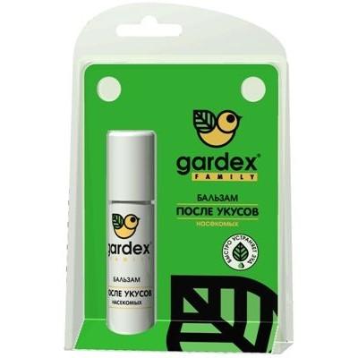 Бальзам после укусов. Gardex Эффективно охлаждает и успокаивает кожу после укусов