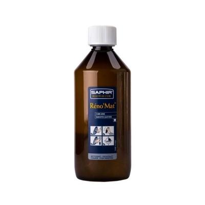 Очиститель для гладкой кожи  SAPHIR RENO Mat, пласт. флакон, 500мл.