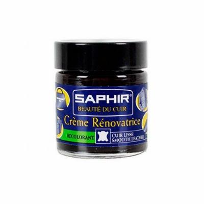 Восстановитель кожи( жидкая кожа ) SAPHIR Creme Renovatrice, СТЕКЛО, 25мл. (цвета в ассортименте)