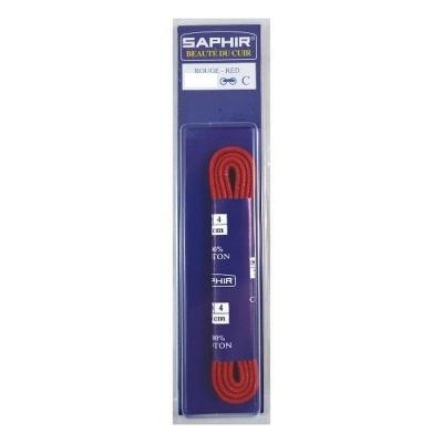 Шнурки Хлопковые Saphir 60см. Круглые Тонкие. Цвета в ассортименте
