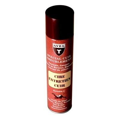 Аэразоль. для гладкой кожи CIRE ENTRETIEN CUIR, 400мл. (neutral)