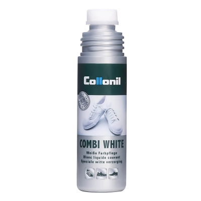Белая краска COMBI WHITE COLLONIL для гладких кож и текстиля COMBI WHITE COLLONIL