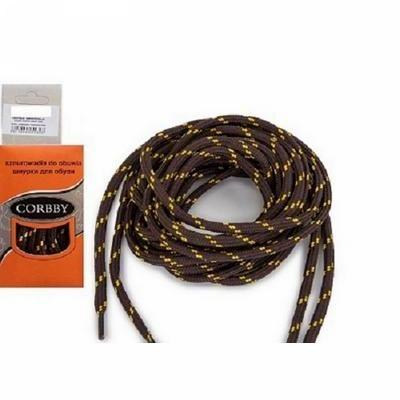 Шнурки круглые Треккинговые Corbby длина 120 см