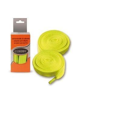 Шнурки 120см. Плоские (желтые)