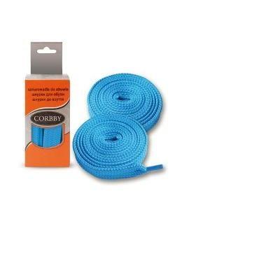 Шнурки 120см. Плоские (синие)