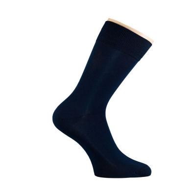 Носки мужские Saphir, цвет черный, хлопок+микромодал+лайкра
