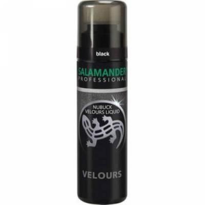 Лосьон для замши с подкрашивающим эффектом, Salamander Professional Nubuk Velours Liquid, цвета в ассортименте