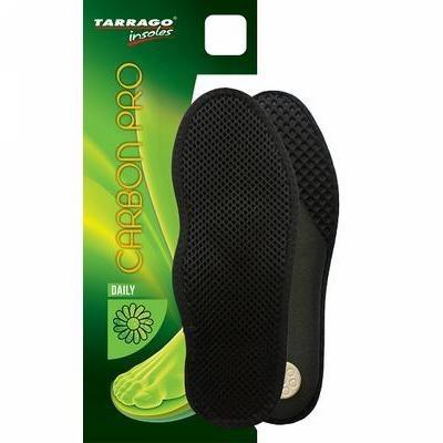 Стельки анатомические Tarrago Carbon Pro, мембран.ткань/латекс
