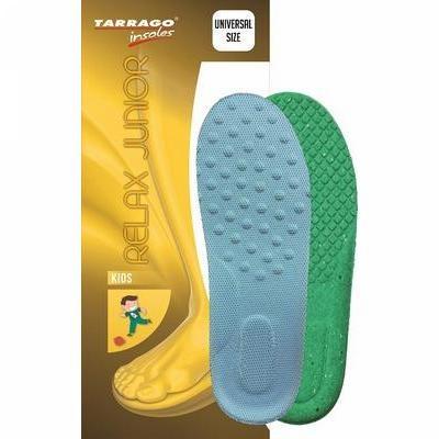 Детские стельки TARRAGO RELAX JUNIOR двухслойные, для ежедневного ношения, универсального размера