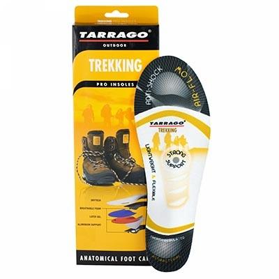 Профессиональные стельки Треккинг TARRAGO, TREKKING, размерный ряд: 37-47 р.
