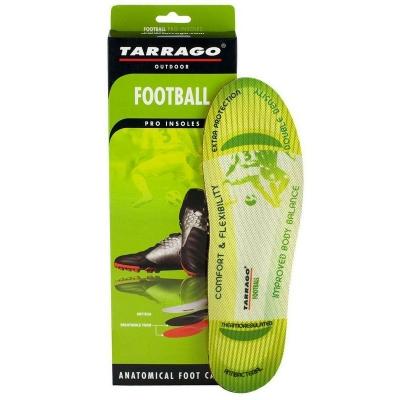 Профессиональные анатомические стельки для футбола TARRAGO FOOTBALL, размерный ряд 37-47р