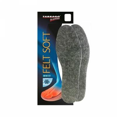 Зимние стельки для обуви из натурального войлока   TARRAGO Felt Soft. Размеры в ассортименте.