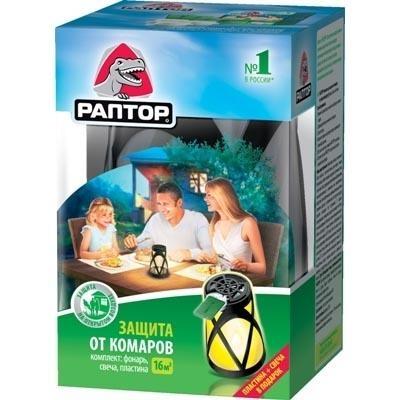 Инновационное средство для защиты от комаров на открытом воздухе от РАПТОР® действие до 5 часов
