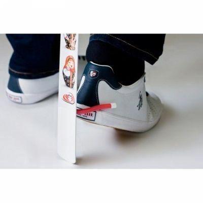 """Рожок для обуви """"Краб"""" с упором для снятия обуви 75 см"""