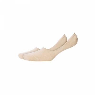 Подследники женские, бежевые Collonil короткие носки с высоким содержанием хлопка