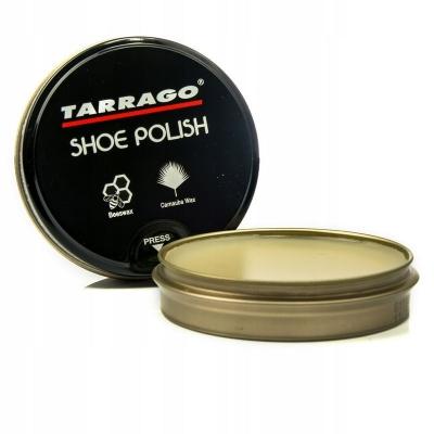 Крем банка-полировочная паста для обуви Tarrago Shoe Polish 50 мл.