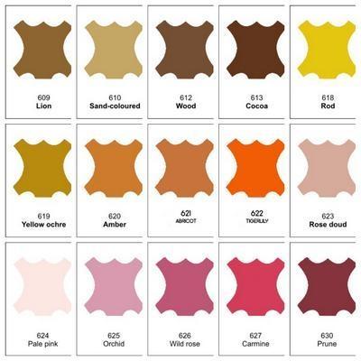 Крем-восстановитель для гладкой кожи Tarrago Quick Color, цвета в ассортименте