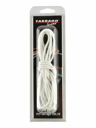 Шнурки регулируемые, эластичные, цвет белый, 100см