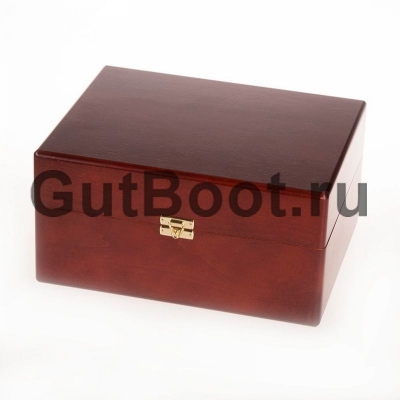 Шкатулка деревянная, с набором средств по уходу за обувью TARRAGO