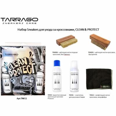 Набор средств по уходу за кроссовками TARRAGO CLEAN & PROTECT