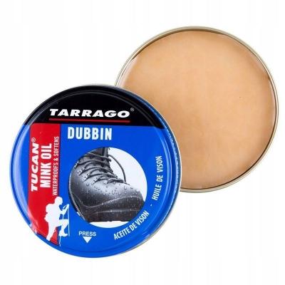 Крем- воск пропитка для гладкой кожи, жированного нубука и кожи, Tarrago Tucan Mink Oil