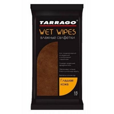 Салфетки TARRAGO  для влажной чистки обуви для гладких видов кож