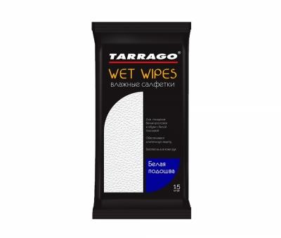 Влажные Чистящие Салфетки Tarrago, для белой подошвы (15шт.)