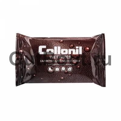 Салфетки влажные для очищения гладкой кожи Collonil Wet Wipes