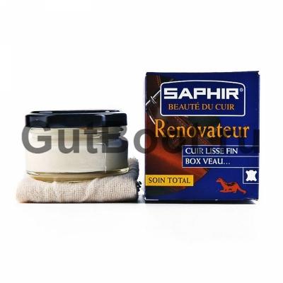 SAPHIR RENOVATEUR Бальзам-восстановитель для ухода и обновления кожаных изделий (одежда, обувь, мебель и др.)