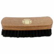 Щетка для полировки обуви, натуральный ворс, Salrus 17 см