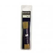 Шнурки хлопковые SAPHIR длина 75 см, плоские шириной 5мм. Цвета в ассортименте