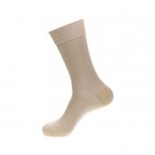 Носки мужские, Saphir, бежевые, бамбук (80%), нейлон комфорт (20%), размеры в наличии