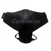 Автопятка AutoheeI,Классическая , Для женской обуви на толстом каблуке, с застежкой на липучке. Черного цвета