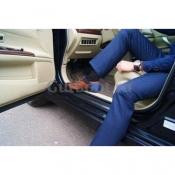 """Aвтoпяткa АutоНееl Для мужской обуви """"Классика""""  вариант крепления кнопка, ремешок липучка. Цвет черный"""