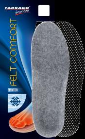 Стельки зимние Tarrago Felt Comfort с натуральным войлоком