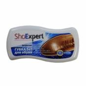 ShoExpert Губка для экспресс чистки гладкой кожи ВОЛНА
