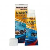 Крем тюбик с губкой TARRAGO NANO Leather WAX, 75мл. (черный)