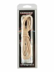 Шнурки регулируемые, эластичные, цвет бежевый,  100см
