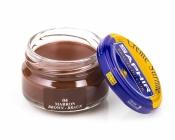 Крем коричневый, для ухода за гладкими кожами SAPHIR Creme Surfine , банка стекло, 50мл.
